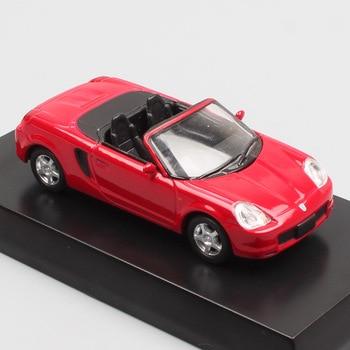 164 Schaal Auto Mini Kyosho Toyota MR2 Spyder Diecasts & Toy Vehicles Miniatuur Model Auto Speelgoed Replica S Van Kids Jongens collectable