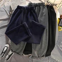 Зимние брюки qweek женские бархатные теплые большого размера