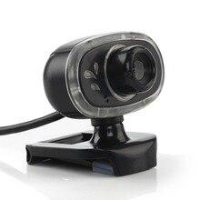 A7110 USB Компьютерный датчик cmos камеры HD видео запись веб-камера с микрофоном безводителя клип-на Cam для настольного ноутбука ПК