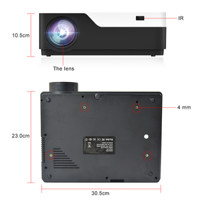 Image 4 - Everycom m18 nativo 1920x1080 real completo hd projetor casa multimídia vídeo game projetor beamer (opcional android wifi ac3)
