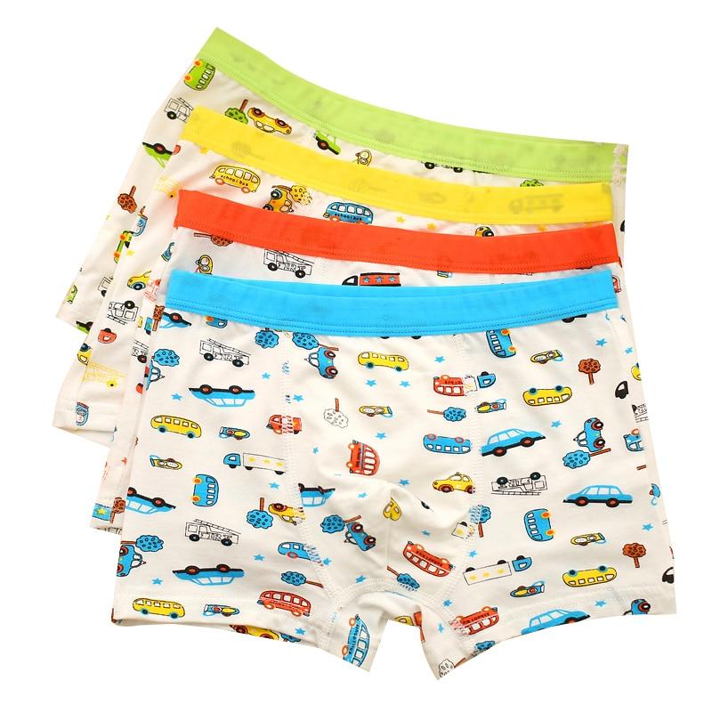 Boxer doux et respirant pour enfants 3 pièces/lot | Couleurs aléatoires, sous-vêtements pour enfants garçons, caleçons Modal doux pour enfants de 2-8 ans (lot de 3)