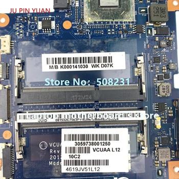 JU PIN YUAN For TOSHIBA SATELLITE U940 U945 Laptop Motherboard K000141030  VCUAA LA-9161P With i5-3337U CPU N13P-GL-A1 GPU