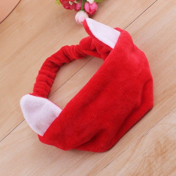 Coreano dell'orecchio di modo del gatto della fascia di Yoga delle donne lavare il viso di trucco dei capelli della fascia accessori produttore all'ingrosso - 6