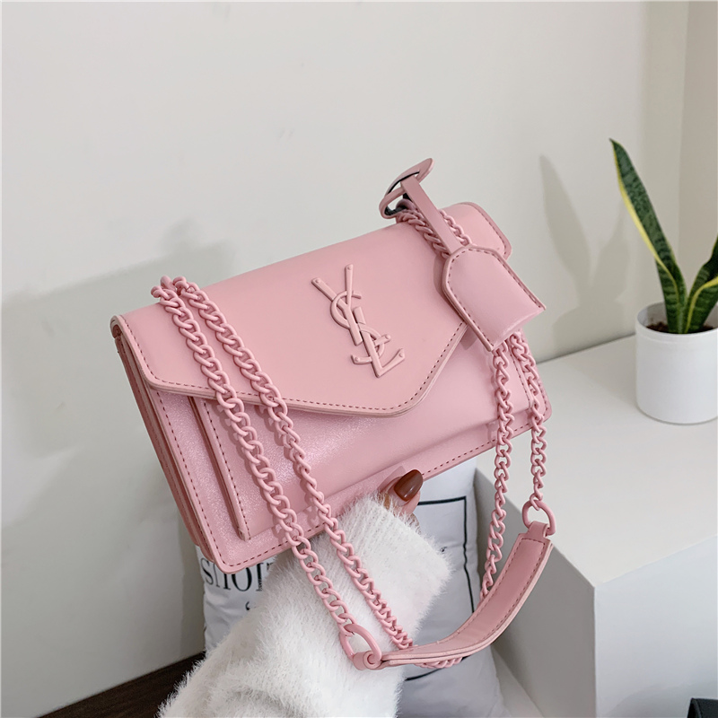 YSL bag new style messenger bag fashion one shoulder versatile French minority autumn and winter advanced feeling      - AliExpress