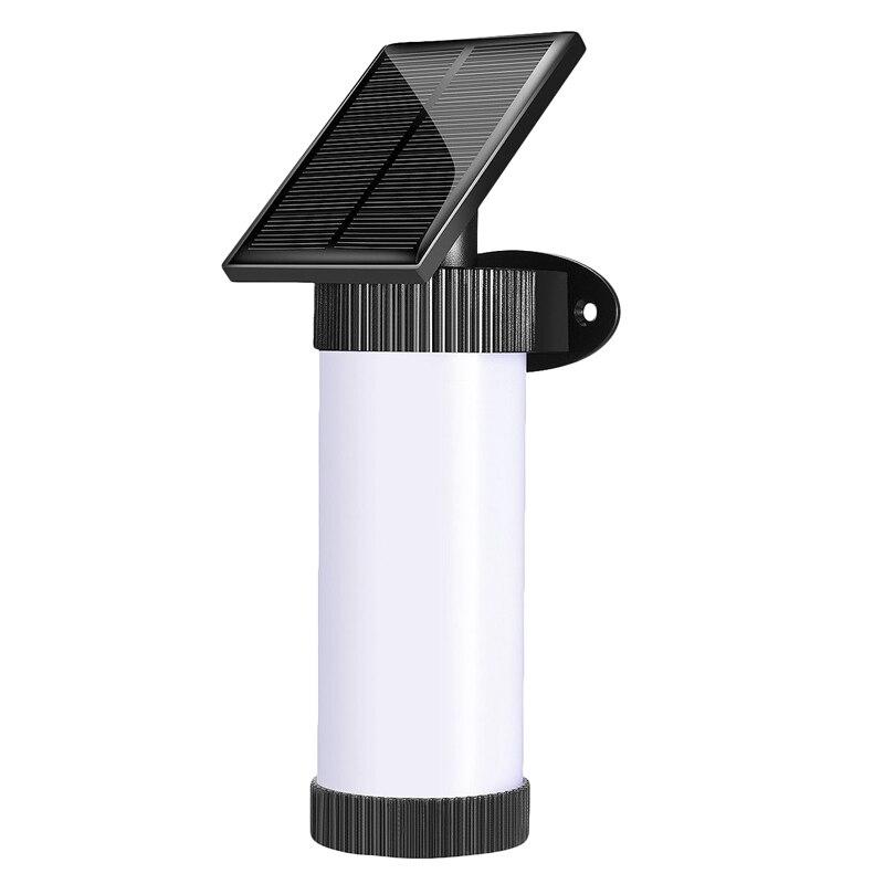 102 LED Solar Light Waterproof 3 Mode Solor Power Fire Flame Wall Light Flickering Door Garden Lamp