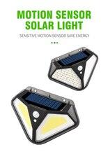 цена на Solar Light LED Waterproof 3 Modes PIR Motion Sensor Security Solar Wall Lamp Outdoor Emergency Garden Yard Outdoor Wall Lights