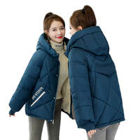 2020 Youth clothing Cotton clothes Women winter jacket large size short coat Down