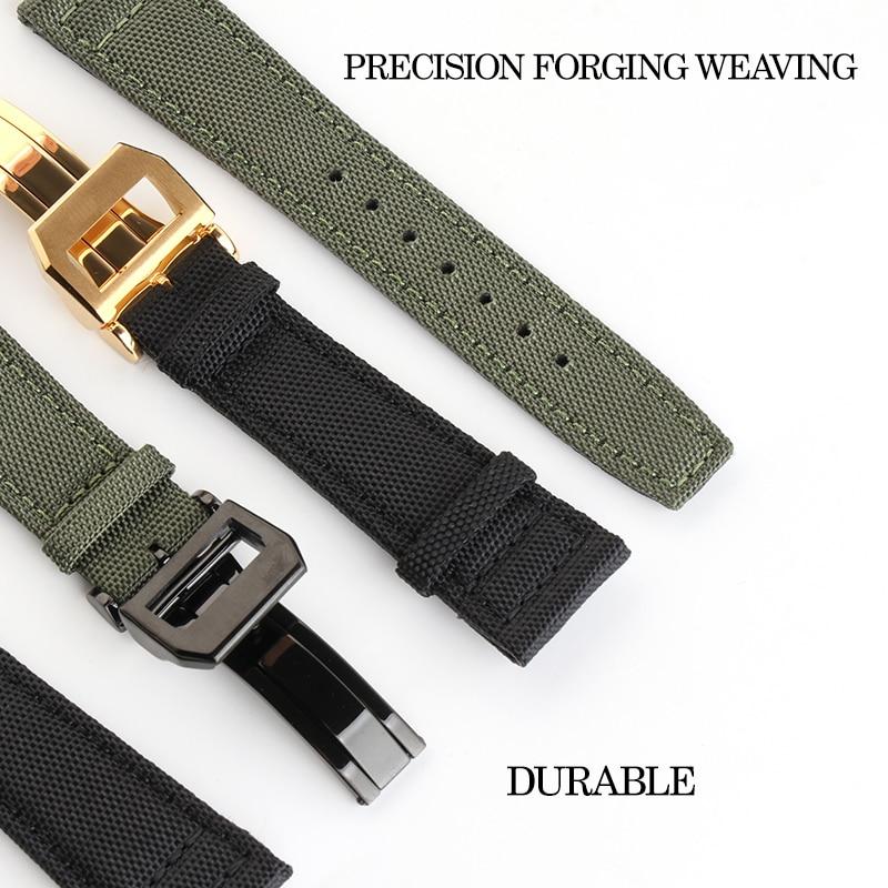 de náilon para iwc pulseira de relógio