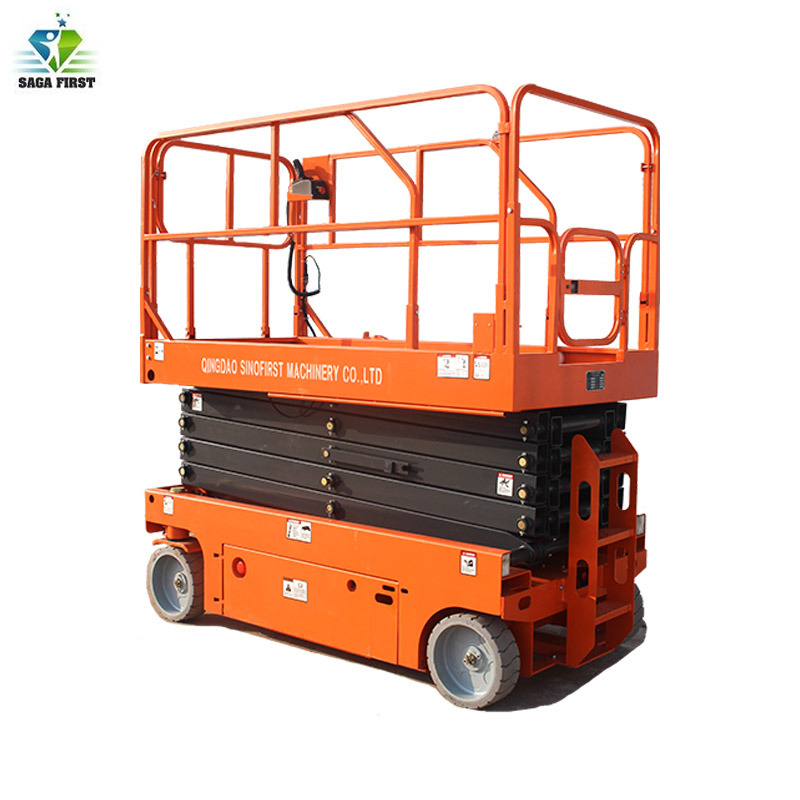 Diesel Engine OR DC Battery OR AC Mobile Hydraulic Scissor Lift