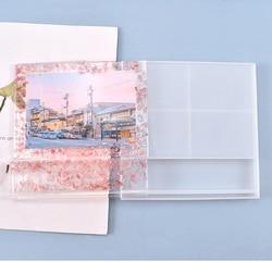 Silicone Mold For Square Photo Frame Desktop Decoration Epoxy Mold DIY Photo Storage Resin Mould