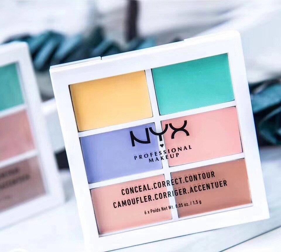 2020 New NYX Highlight & Contour Pro Palette Make Up Lip Tint Maquiagem NYX Makeup Free Shipping