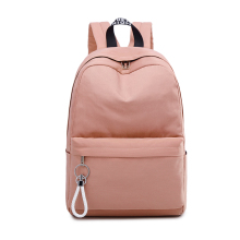 Fashion Women Backpack Waterproof School Bag For Teenage Girl Backpack Large Capacity Solid color Travel Bag Send Pendant рюкзак