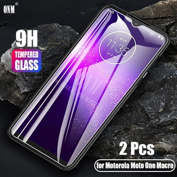 Перейти на Алиэкспресс и купить 2 шт. закаленное стекло для Motorola One Macro Glass защита экрана 2.5D Закаленное стекло для Motorola One макрозащитная пленка