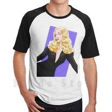 Veronica Lake T-shirt Bricolage Grande Taille 100% Coton Veronica Lake Paul Cemmick Acteur Américain Film Scène Alan Ladd Femme Fatale Film