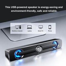 Ada altavoz V 111 para ordenador con cable USB, altavoz estéreo de graves, Subwoofer, caja de sonido envolvente para PC, portátil, teléfono, MP3 y MP4