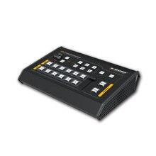 Avmatrix vs0601 mini 6ch sdi/hdmi multi formato vídeo switcher com interface gpio para o sistema de contagem ao vivo