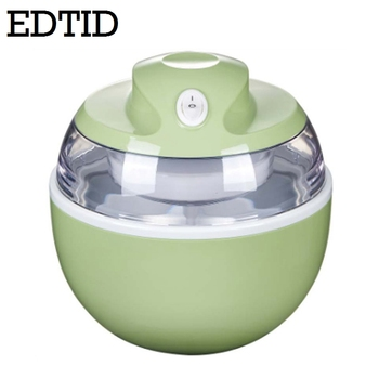 EDTID MINI DIY Automatische Fruit Ijs Machine Elektrische Soft Icecream Bevroren Yoghurt Sorbet Maker Milkshake Vriezer EU US Plug