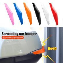 2Pcs Car Styling Door Protector Door Side Edge Protection Guards Stickers Door Protector White Red Blue Green Pink black Orange