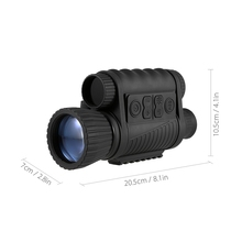 Infrared Night-Vision Monocular 6X50 Zoom Night-Vision Goggles 350M Distance Night Watching Observation and Digital Ir Hunting D