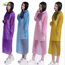 Adult raincoat EVA frosted four-button Outdoor camping drifting can be wholesale