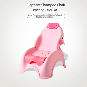 Children's Shampoo Chair Baby Shampoo Bed Foldable Shampoo Chair Child Plus Size Home Shampoo Artifact фото