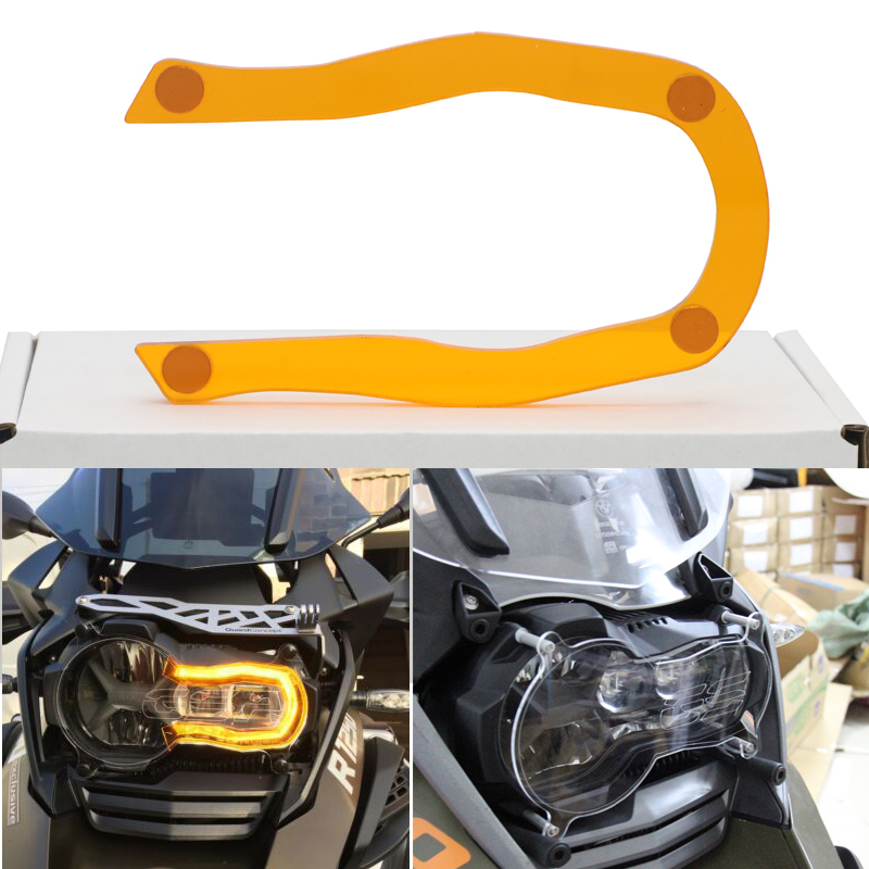 For BMW R1200GS Grille Headlight Protector Guard Lense Cover Fit For BMW R 1200 GS LC ADV 13-18 Acrylic Motorcycle Accessories