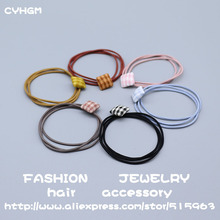 CYHGM girls hair accessories para cabelo for women fascinator elastic hair bands hairband scrunchie korean style c228-1