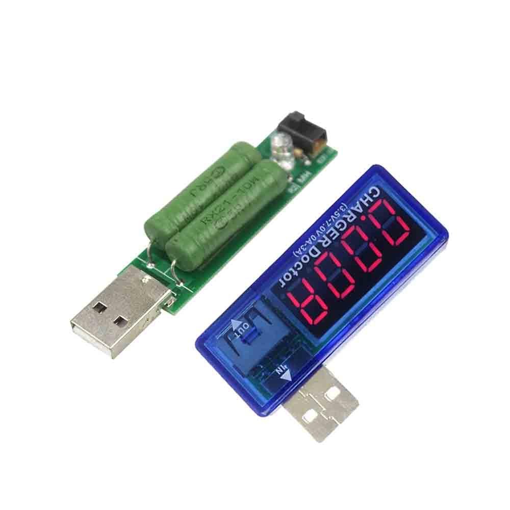 الکترونیک هوشمند شارژر موبایل موبایل دیجیتال USB شارژر ولتاژ فعلی تستر ولتاژ سنج Mini USB شارژر دکتر ولت متر سنج