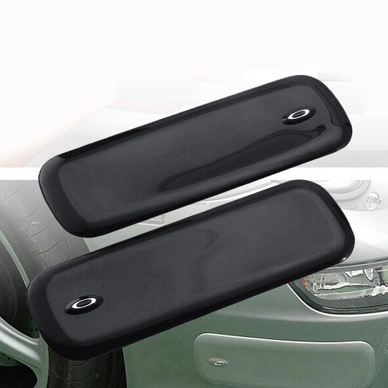 2x Car Bumper Pads PVC Rubber Protector Left+Right Corner Guards 300*100*5mm