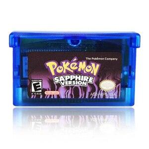 Игровая карта Pokemon Series GBA для nasud NDSL GB GBC GBM SP