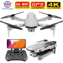 Sharefunbay F3 Drone GPS 4K 5G Wifi Live Video FPV Quadrotor Penerbangan 25 Menit RC Jarak 500M drone Wide-Angle Dual Kamera(China)