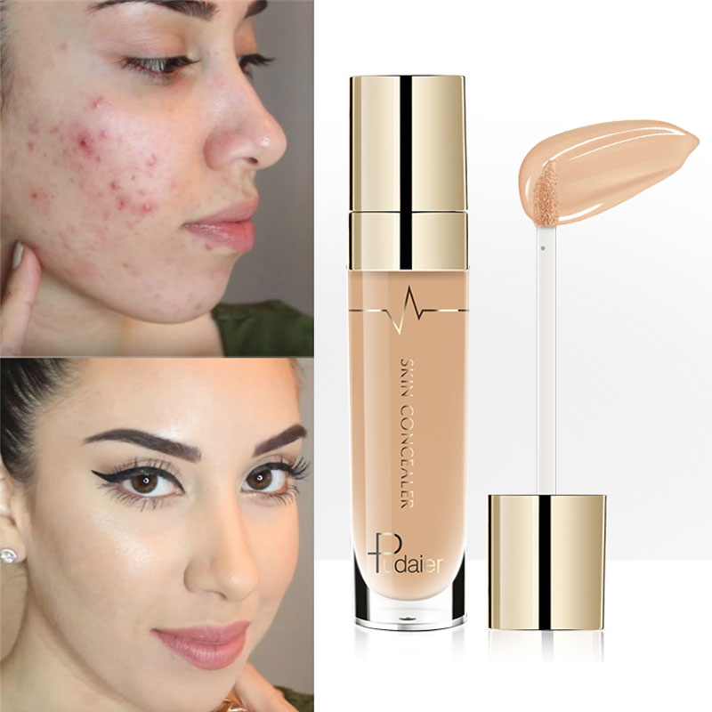 Pudaier Face Contour Concealer Liquid Waterproof Full Coverage Foundation Corrector Palette Base Professional Makeup Cosmetics image