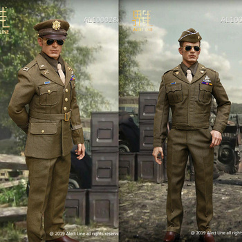 AL100028 1/6 World War II US Captain Army uniform set World War II US Marine Corps general цена 2017