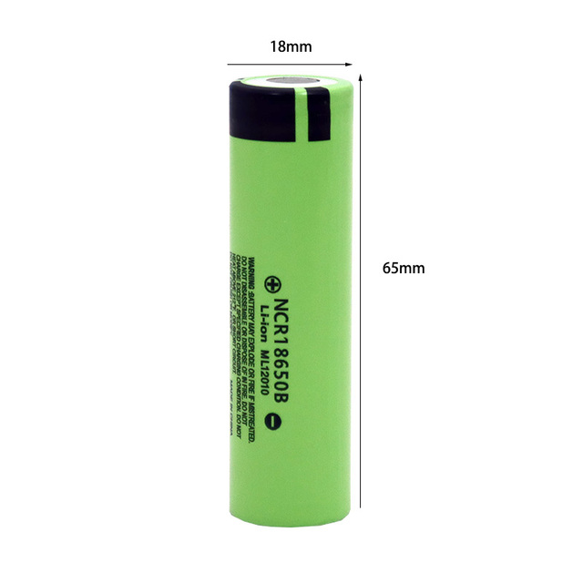 100% New Original NCR18650B 3.7 v 3400mah 18650 Lithium Rechargeable Battery For Flashlight batteries 4