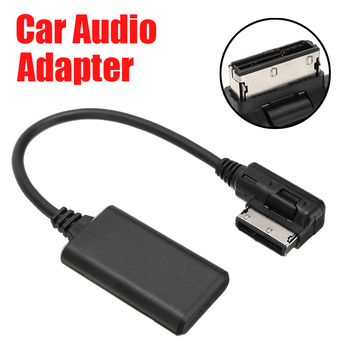 цена на AMI MMI bluetooth Module Adapter Aux Cable Wireless Audio Input Aux Radio Media Interface For Mercedes CL B E SL ML GL R Class