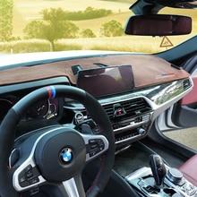 For BMW X3 X4 2011-2015 2016 2017 2018 2019 2020 Anti-slip Mat Custom Central Control Instrument Panel Sun Mat  Car Accessories