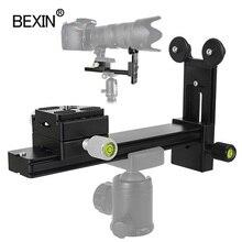 Support de téléobjectif fixation rapide de la plaque adaptateur pince Support dobjectif de caméra pour trépied de caméra