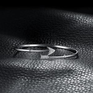 Image 3 - JPalace כתר קופידון חץ קאף 925 כסף סטרלינג צמידי צמיד צמידים לנשים כסף 925 תכשיטי ביצוע ארגונית