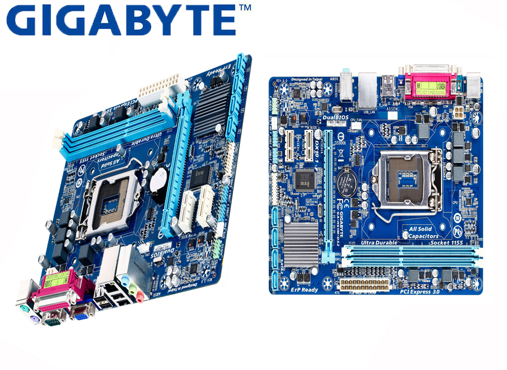 Worldwide delivery socket 1155 motherboard gigabyte in