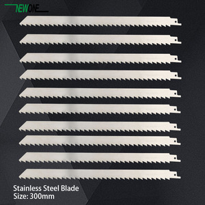 Image 5 - Hoja de sierra recíproca de acero inoxidable NEWONE de 300mm accesorios para herramientas eléctricas hojas de sierra para cortar carne congelada y huesos