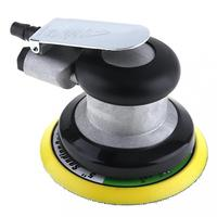 HHO 5 Polegada não vácuo matte superfície circular pneumática lixa orbital aleatória lixadeira de ar polido máquina de moer ferramentas manuais|Polidores| |  -