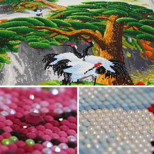 Image 2 - Meian 5D Diamond Painting Full Drill Diamond Embroidery Great Wall Home Decoration DIY broderie diamant New 2019 Crafts AB Beads