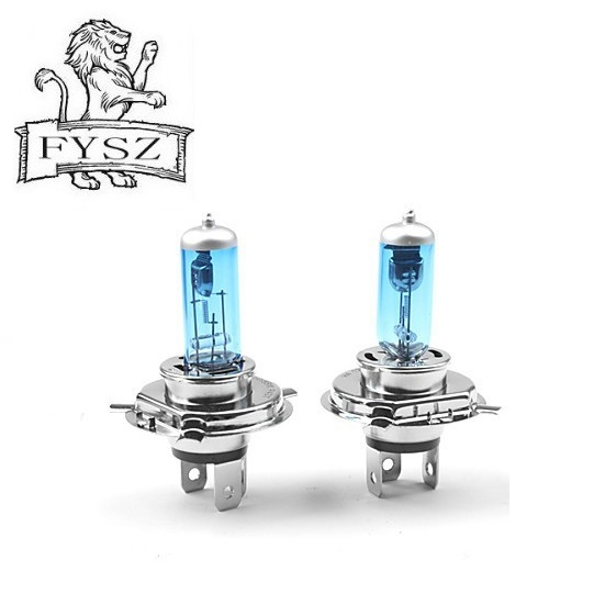 2Pcs H4 HB2 12V 55W P43T Cars Headlight Lamp 5000k 6000K Super White Light hernia Bulb aoto parts h4 parking