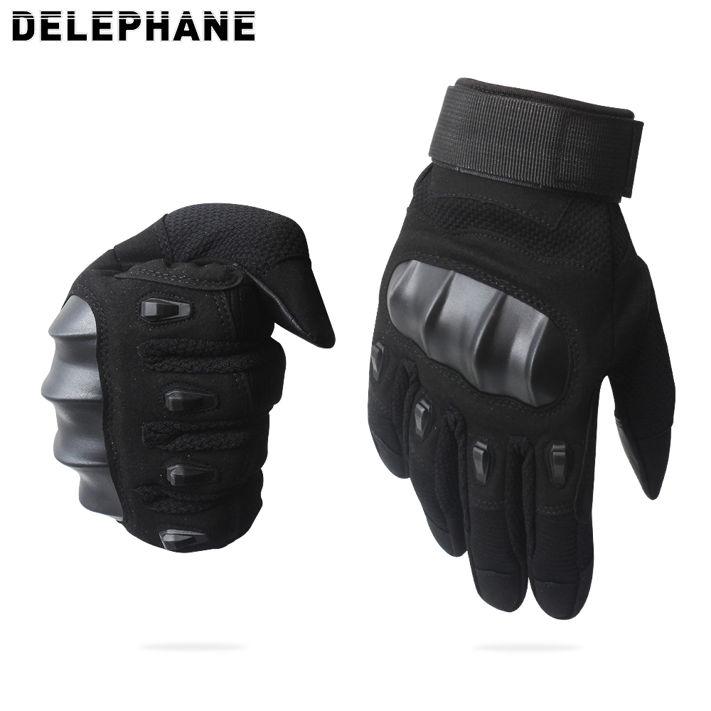 Tactical Full Finger Gloves Man Women Touch Screen Hard Knuckles Moto Shooting Airsoft Driving Hand Miltary Combat Army Glove