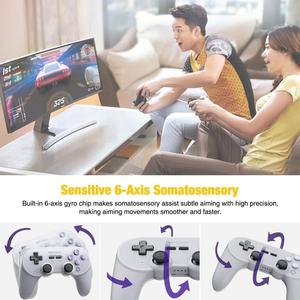 Image 5 - SN30 PRO+ Wireless Joystick Bluetooth Remote Game Controller Gamepad for Switch/Windows/ Steam/macOS Joystick Accessories