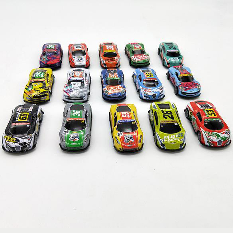 Alloy Car Racing Free Shipping Pullback Car Kids Toys Mini Racing Toys Car Sandbox Model Kids Gifts
