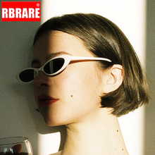 RBRARE Vintage Mini Frame Cat Eye Sunglasses