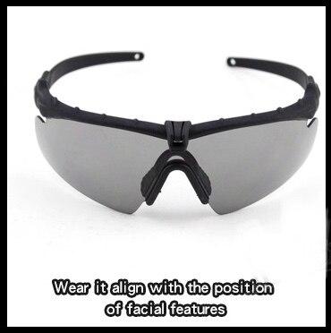 Защитные очки анти шок ПК линзы очки анти УФ лыжный альпинизм защитные очки для верховой езды Очки для велоспорта      АлиЭкспресс