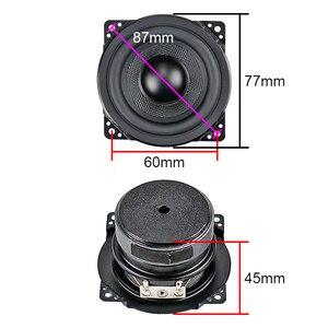 Image 2 - Ghxamp 3 inch Full Range Speaker 8ohm 15W Woofer 77mm Loudspeaker Rubber Edge Woven Basin For 2.0 Surround Speaker 2PCS