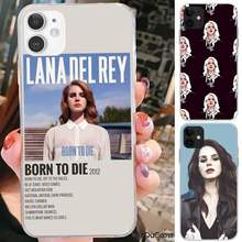 Riccu-funda de teléfono para iPhone, carcasa Sexy de Lana Del Rey para modelos 7, 8 Plus, X, XS, Max, XR, 5s, SE 2020, 6, 6s, 11pro